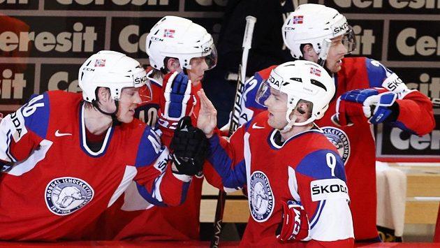 Norští hokejisté si na Čechy věří.