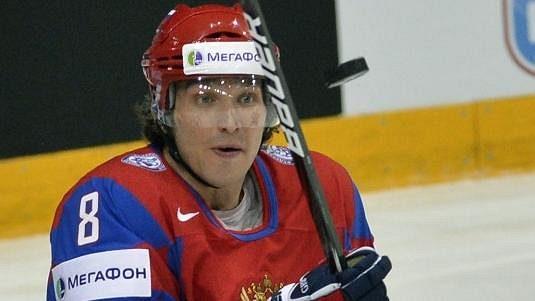 Ruská hokejová hvězda Alexandr Ovečkin.