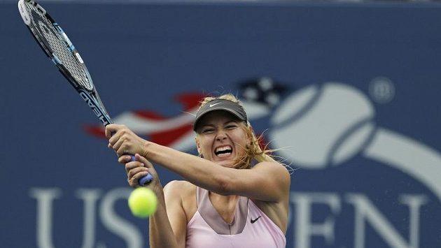 Maria Šarapovová hladce postoupila do druhého kola US Open.