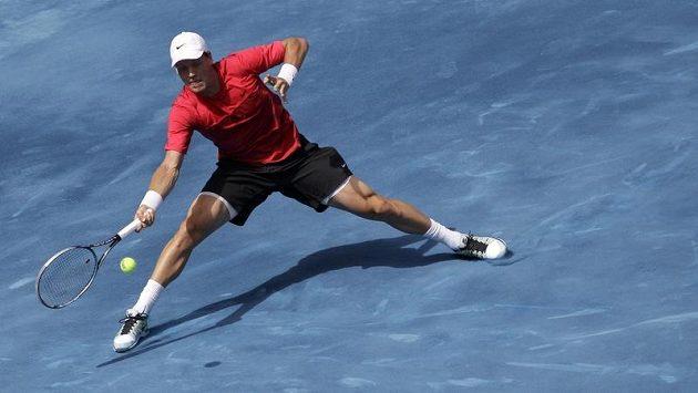 Tomáš Berdych čeká na úvod French Open Dudi Sela