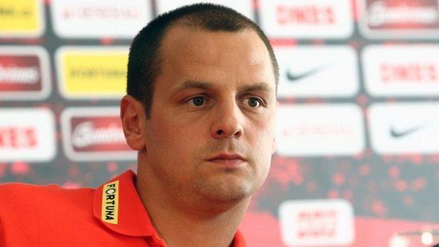 Kapitán Marek Matějovský před utkáním s Feyenoordem.