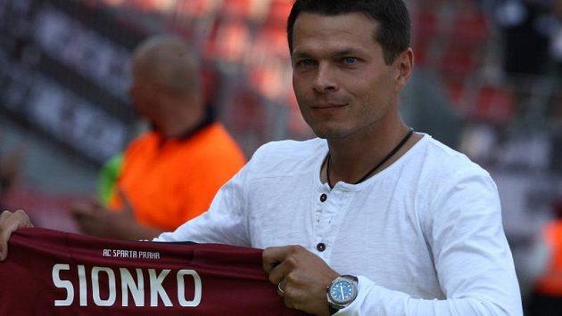 Libor Sionko při loučení s aktivní kariérou.