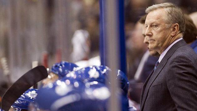 Trenér Ron Wilson na lavičce Toronta skončil.