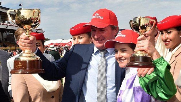 Dostihový trenér Darren Weir a jeho chvíle slávy v roce 2015, kdy se svým koněm Prince of Penzance vyhrál australský Melbourne Cup.