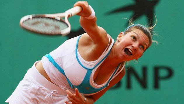 Rumunská tenistka Simona Halepová ještě před chirurgickým zákrokem.