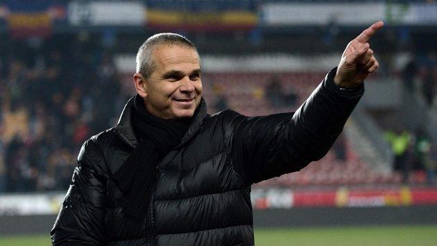 Spokojený trenér Sparty Vítězslav Lavička po výhře nad Plzní.