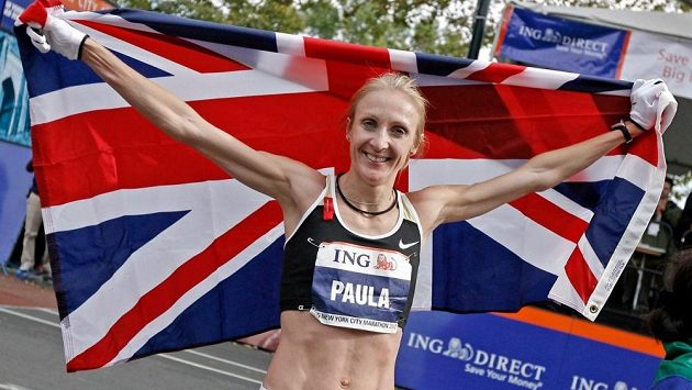 Paula Radcliffeová.