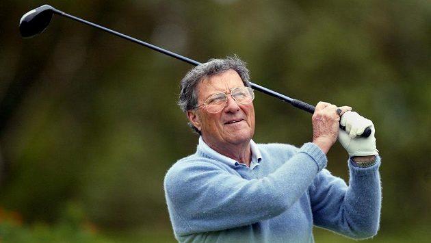Slavný australský golfista Peter Thomson na snímku z roku 2004.