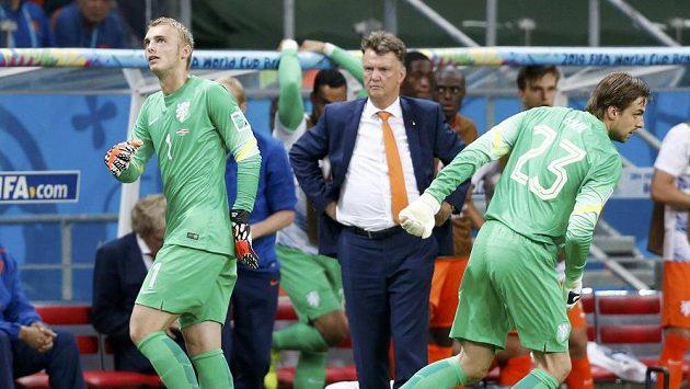 Kouč Louis van Gaal přišel v závěru prodloužení s nečekanou výměnou gólmanů. Zaskočeného Jaspera Cillessena vystřídal Tim Krul (23) a v rozstřelu vychytal Nizozemcům postup přes Kostariku.