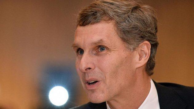 Předseda Českého olympijského výboru (ČOV) Jiří Kejval.