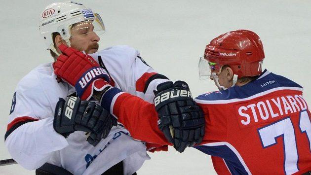 Do ručního vyřizování názorů se dostali i Michal Sersen ze Slovanu a Gennadij Stoljarov z CSKA.