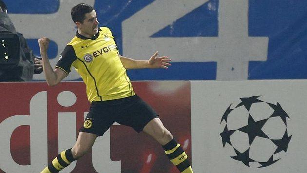 Útočník Borussie Dortmund Robert Lewandowski.