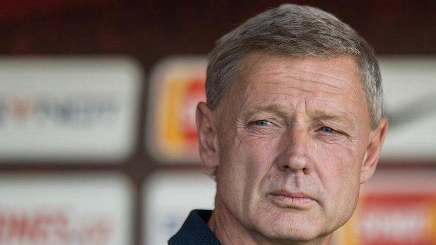 Trenér pražské Sparty Zdeněk Ščasný.