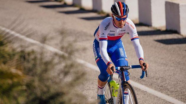 František Sisr, úřadující český cyklistický šampion z týmu Elkov Kasper.