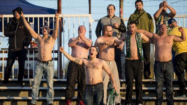 Fotbaloví fanoušci - ilustrační foto.