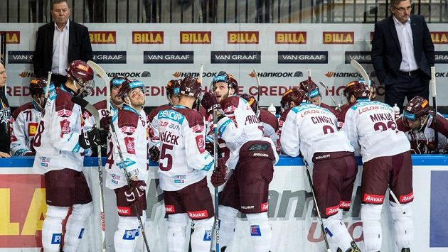 Hokejisté Sparty Praha.