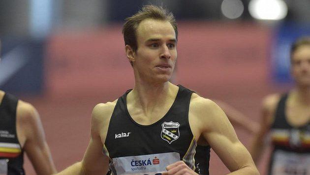 Jan Tesař po vítězném finále mistrovství republiky v Ostravě.