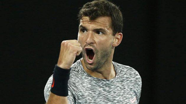 Bulharský tenista Grigor Dimitrov.