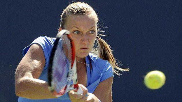 Petra Kvitová ve finále proti Halepové neuspěla.