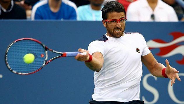 Šance pro české reprezentanty? Srb Janko Tipsarevič možná zmešká finále Davis Cupu.