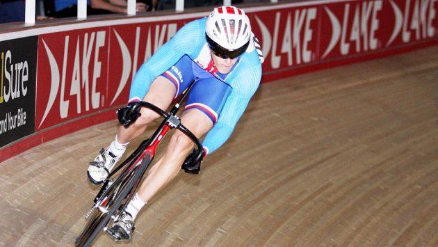 Dráhový cyklista Pavel Kelemen