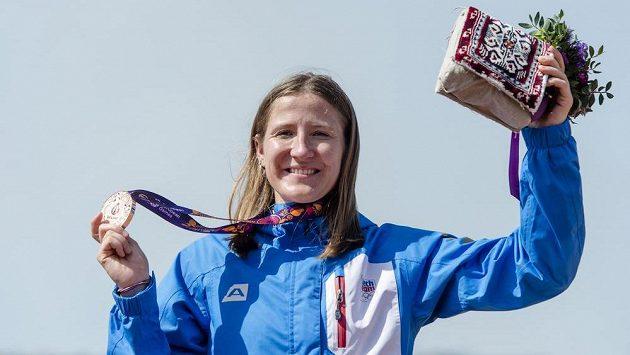 Česká závodnice Aneta Hladíková vybojovala bronzovou medaili.