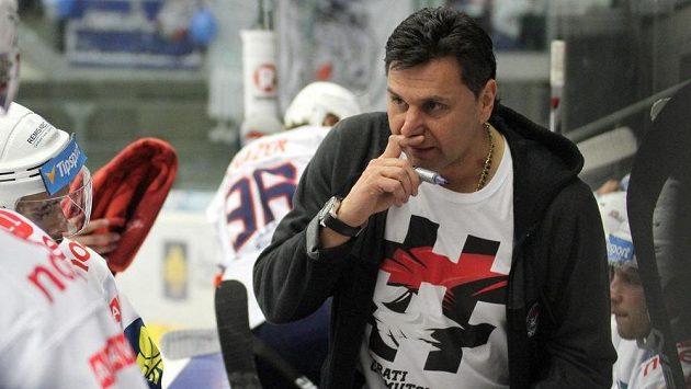 Chomutovský trenér Vladimír Růžička.