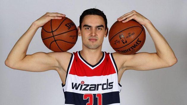 Posila basketbalistů Washingtonu Tomáš Satoranský.
