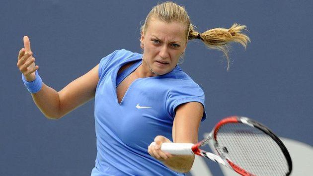 Petra Kvitová na turnaji v New Havenu.