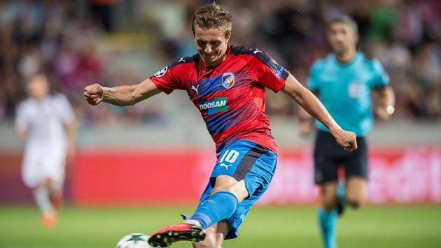 Jan Kopic dal druhý gól Plzně - ilustrační foto.