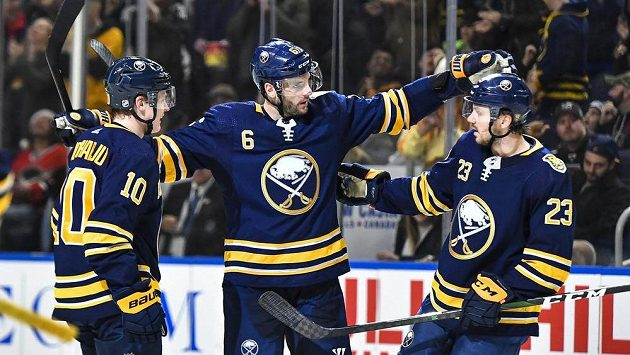 Buffalo Sabres porazilo Los Angeles Kings 3:2.