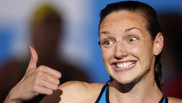 Maďarská plavkyně Katinka Hosszúová.