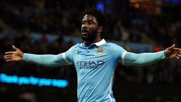 Kanonýr Bony Wilfried ještě v dresu Manchesteru City.