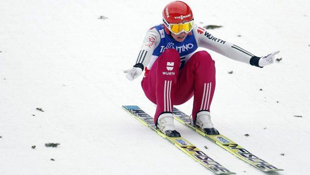 Sdruženář Eric Frenzel (na snímku) vyhrál na mistrovství světa ve Val di Fiemme závod se skokem na velkém můstku.