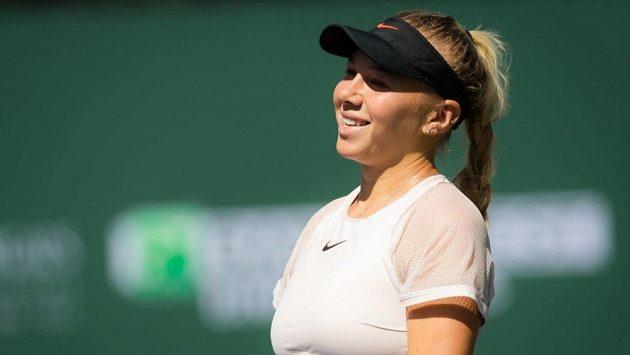 Americká tenistka Amanda Anisimová.