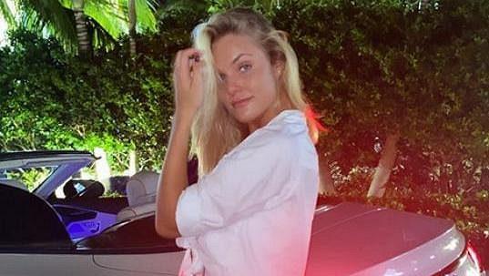 Bývalá vítězka wimbledonské juniorky Sofia Žuková opět rozpálila fanoušky na sociálních sítích.