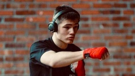 Boxer Erik Suchý