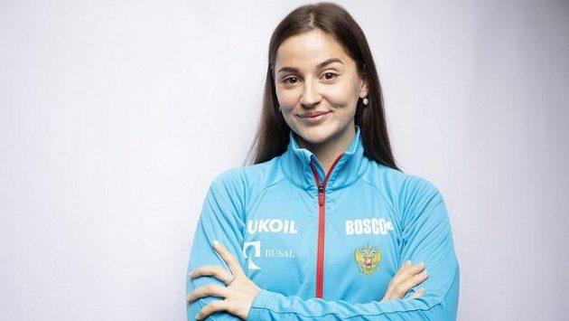 Ruská lyžařka Juljia Bělorukovová na doporučení trenérů otěhotněla.