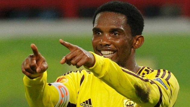 Kamerunec Samuel Eto'o je v ruské Machačkale nejlépe placeným fotbalistou světa. Dočká se ještě zvučnějších soupeřů?