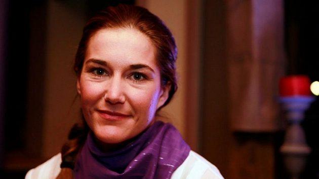 Slalomářka Šárka Strachová.