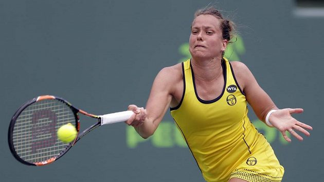 Tenistka Barbora Strýcová v Miami nestačila na Němku Angelique Kerberovou.