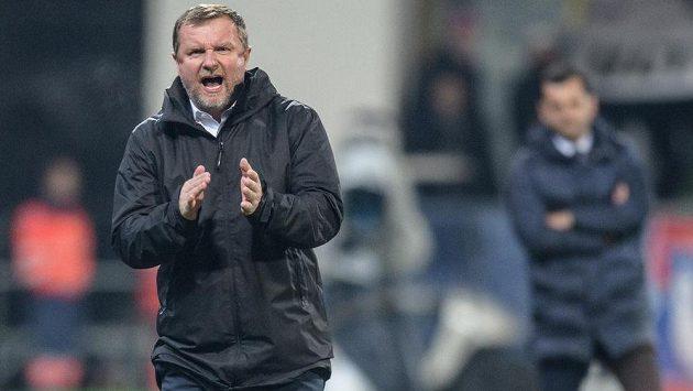 Trenér Viktorie Plzeň Pavel Vrba může být s ligovým podzimem navýsost spokojený.