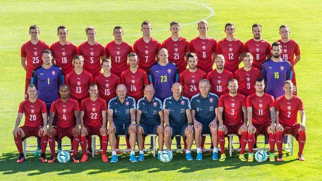 Čeští fotbaloví reprezentanti na začátku kvalifikace v boji o MS 2018.
