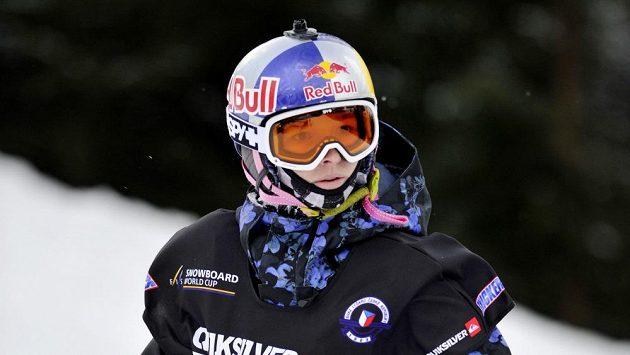 Česká snowboardistka Šárka Pančochová