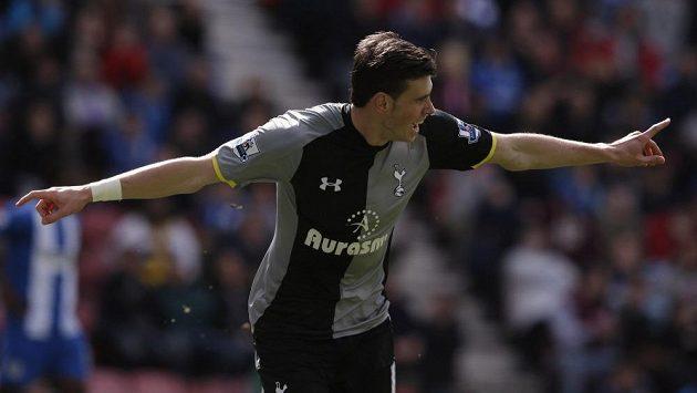 Gareth Bale, hvězda fotbalového Tottenhamu.