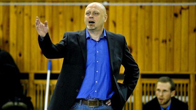 Trenér ostravských volejbalistů Zdeněk Šmejkal je z kroků klubového vedení rozladěný.
