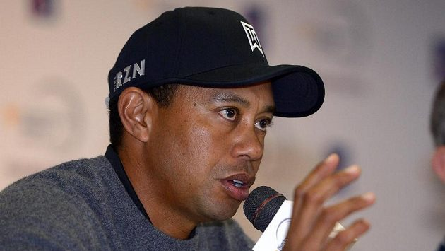 Americký golfista Tiger Woods