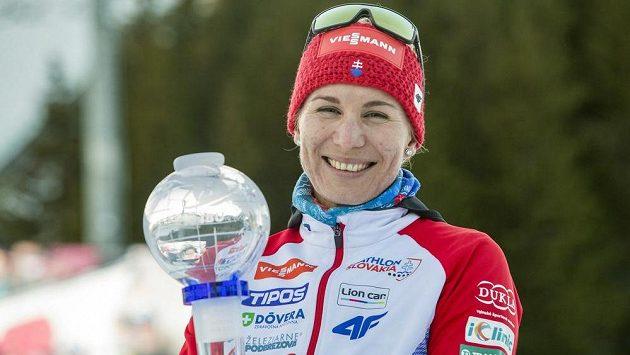 Poslední sprint biatlonistek v sezoně na Světovém poháru na Holmenkollenu vyhrála slovenská mistryně světa Anastasia Kuzminová a obhájila malý křišťálový glóbus.