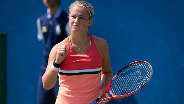 Karolína Muchová si zahraje na Australian Open hlavní soutěž.