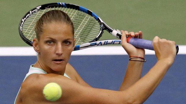 Karolína Plíšková se letos s US Open loučí po prohře ve čtvrtfinále.